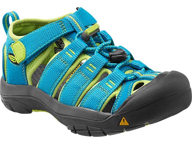 Keen Newport H2 Sandals Barn hawaiian blue/green glow